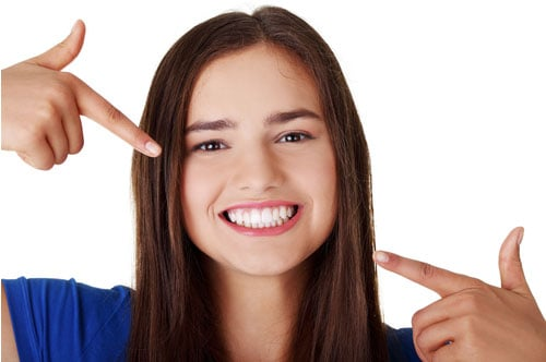 Young Woman Smiling image
