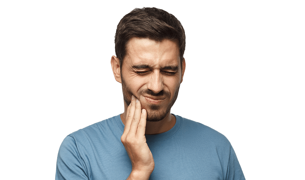 Guy with tooth pain image
